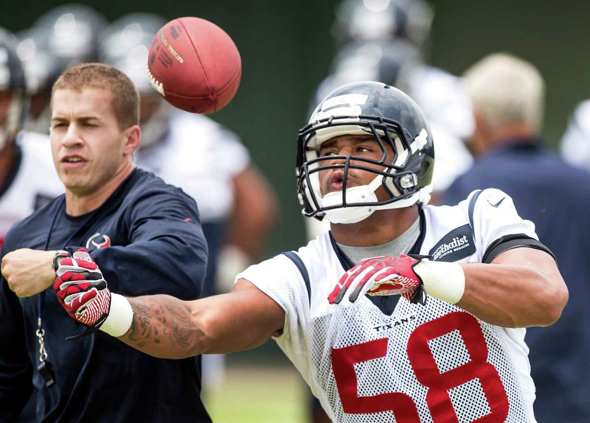 Former Texans draft choice Reshard Cliett has latched on with Denver's practice squad.