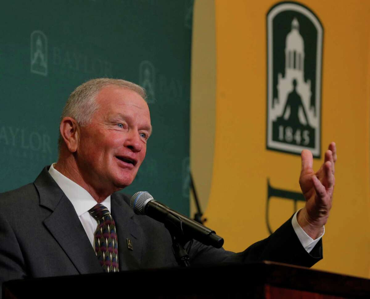23.Baylor This week: vs. Northwestern State, 6:30 p.m. Friday Baylor got rid of coach Art Briles, president Ken Starr and the athletic director Ian McCaw, who were all there for the much-discussed sexual assaults at the university. However, new coach Jim Grobe came in and kept assistant coaches who also got their hands dirty in the scandal. It's going to be tough to watch Baylor football for a while without catching a whiff of the dirt that went on there the past few years.
