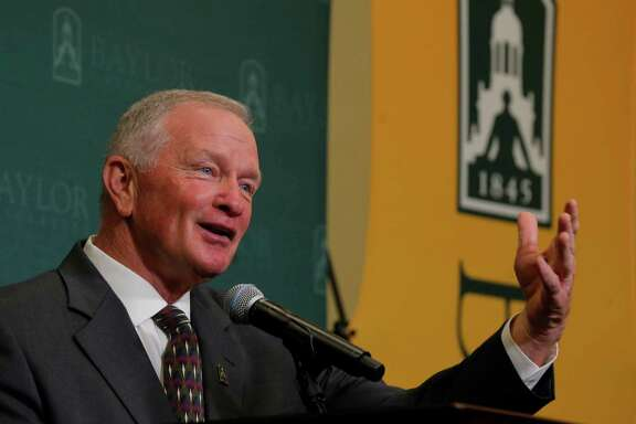 Baylor interim head coach Jim Grobe says one of his immediate goals is to stop the exodus of players who had committed to the football program.