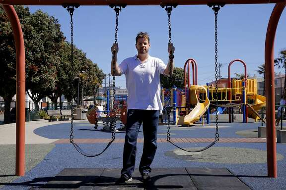Supervisor Mark Farrel at the South Sunset Playground,  in San Francisco, Calif. on Sat. September 19, 2015. San Francisco Supervisor Mark Farrell will formally introduce a ballot initiative for the June 2016 ballot that will guarantee over $350 million of new dollars for the Recreation and Parks department.
