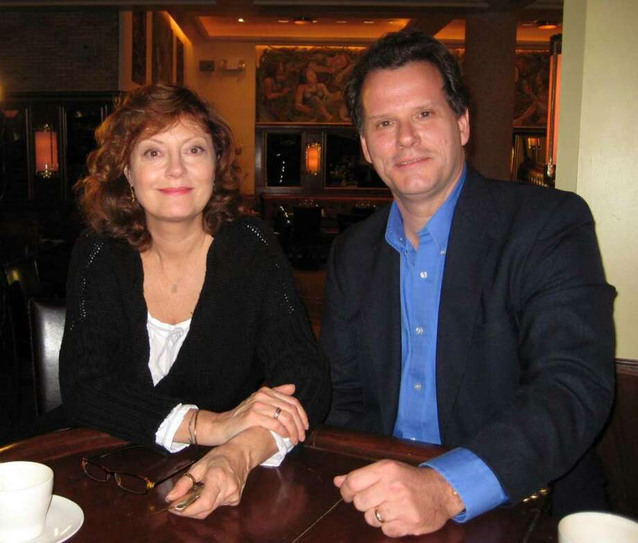 """Burton Peretti, chair of the history department at Western Connecticut State University in Danbury, will appear Friday at 8 p.m. on NBC on the new geneology show """"Who Do You Think You are"""" as an advisor to actress Susan Sarandon on her grandmother's history. Photo: Contributed Photo / The News-Times Contributed"""