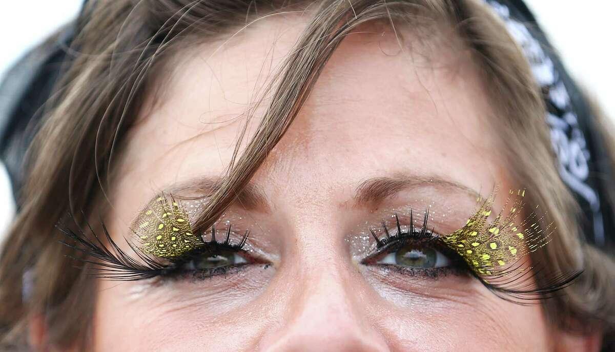 """Best eyelashes. """"I buy them and then modify them myself."""""""