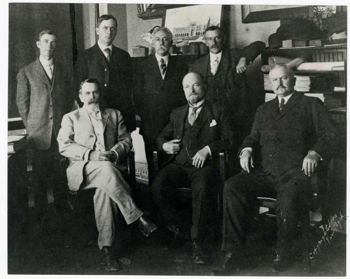 1911 Board of Trustees at Rice Institute, later to become Rice University.
