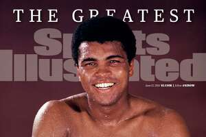 This image provided by Sports Illustrated on Saturday, June 4, 2016 shows the newest Sports Illustrated Cover Tribute to Muhammad Ali.  The portrait was shot by Neil Leifer while Ali trained at 5th Street Gym in Miami Beach on Oct. 9, 1970. This will be the June 13 issue cover on stands June 8. Ali, the magnificent heavyweight champion whose fast fists and irrepressible personality transcended sports and captivated the world, has died according to a statement released by his family Friday, June 3. He was 74. (Sports Illustrated via AP)