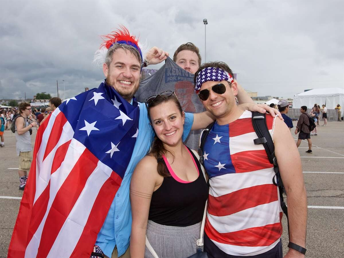 Most patriotic.