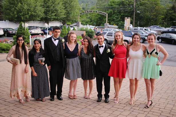 Fairfield Warde seniors celebrated their senior prom at Villa Bianca Restaurant in Seymour on June 4, 2016. Were you SEEN?