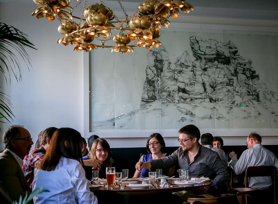 Dinner at Mister Jiu's in San Francisco. Photo: John Storey, Special To The Chronicle