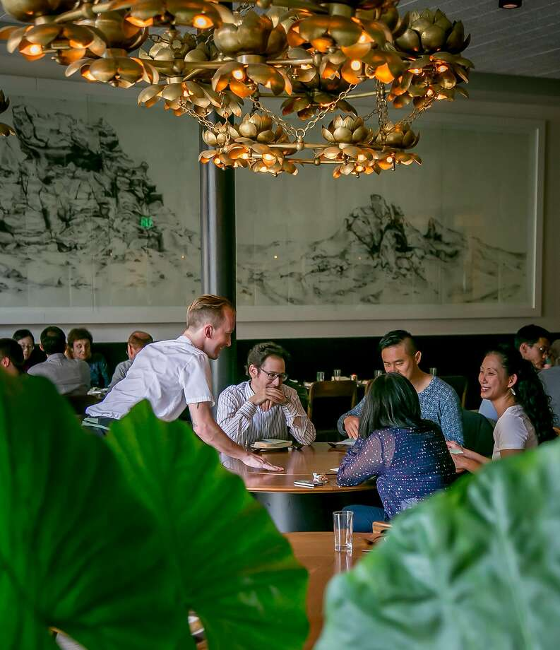 The dining room at Mister Jiu's in San Francisco. Photo: John Storey, Special To The Chronicle