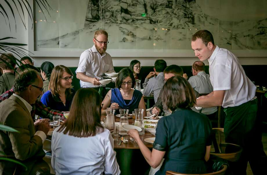 People have dinner at Mister Jiu's in San Francisco, California on June 4th, 2016. Photo: John Storey, Special To The Chronicle