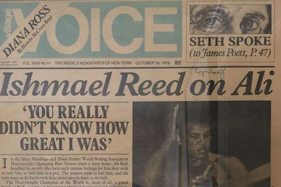 Ishmael Reed covered the 1978 Ali-Spinks prizefight for the Village Voice.