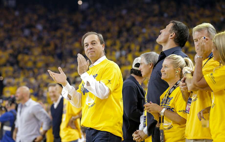 Joe Lacob is seen before Game 2 of the NBA Finals at Oracle Arena on Sunday, June 5, 2016 in Oakland, Calif. Photo: Carlos Avila Gonzalez, The Chronicle