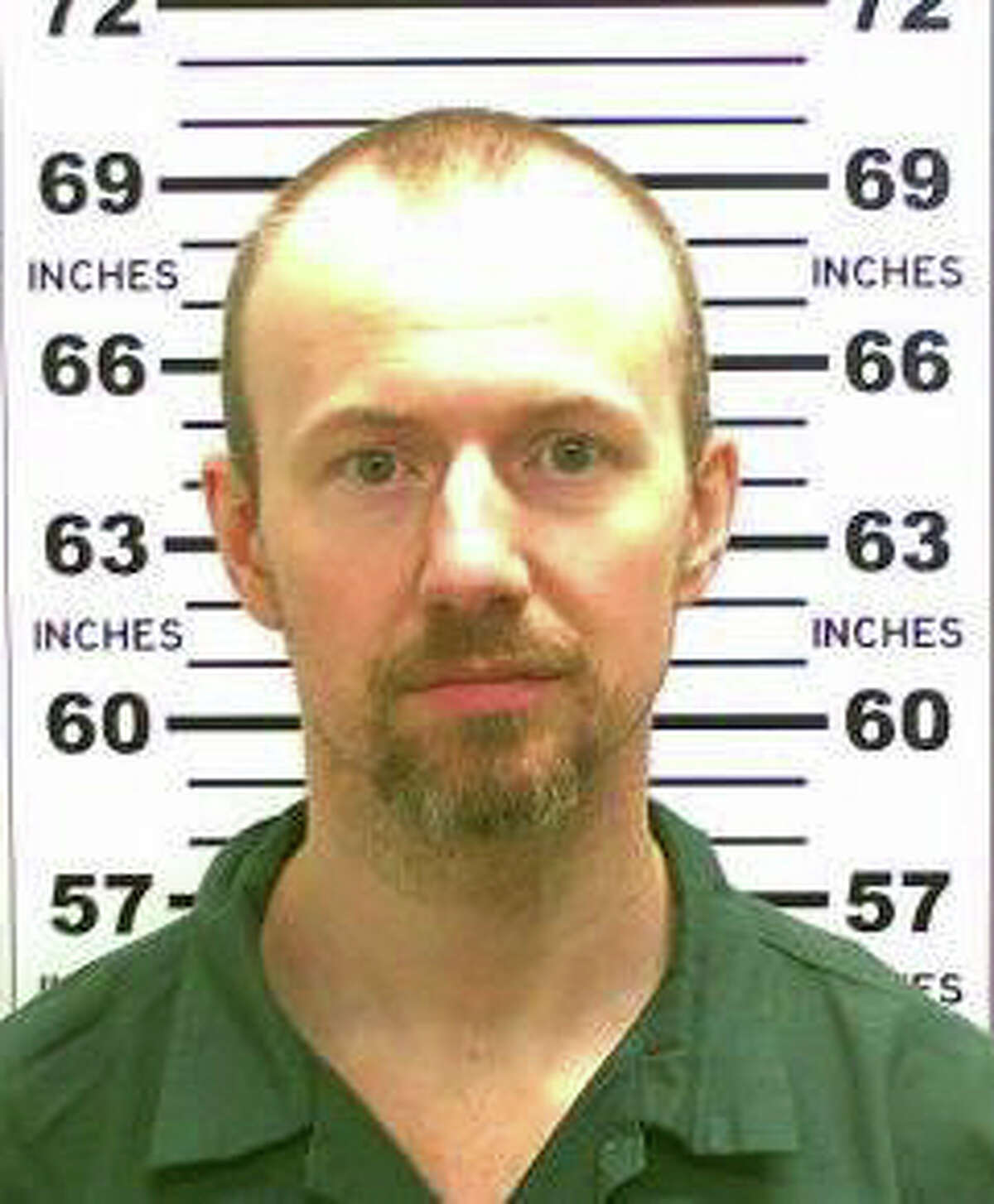 This undated photo released by the New York State Police shows David Sweat, 34, one of the two convicted killers who escaped from the Clinton Correctional Facility in Dannemora, N.Y. The prisoners escaped the state?'s largest prison overnight by tunneling their way out, setting off an extensive manhunt and prompting Gov. Andrew Cuomo to travel to the facility. (New York State Police, via The New York Times) -- FOR EDITORIAL USE ONLY. -- ORG XMIT: XNYT82