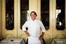 Chef John Besh poses for a portrait at Restaurant August in New Orleans on August 6, 2015.