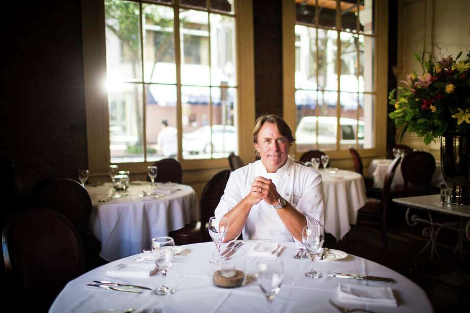 Chef John Besh poses for a portrait at Restaurant August in New Orleans. Photo: Edmund D. Fountain, For The Chronicle / Edmund D. Fountain