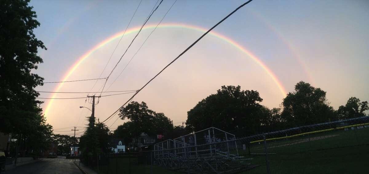 Connecticut rainbow on June 5, 2016.