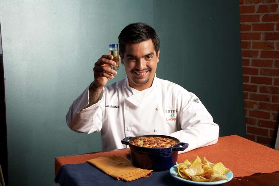 """Celebrity chef and Texas native Aaron Sanchez is coming to Houston Dec. 5 to promote his memoir """"Where I Come From."""" Photo: Courtesy Photo, Cacique"""