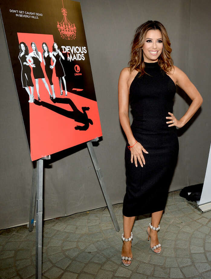 Eva Longoria, who has a guest shot in Season 4, was incredibly proud of her Lifetime series, 'Devious Maids.'  Photo: Getty Images