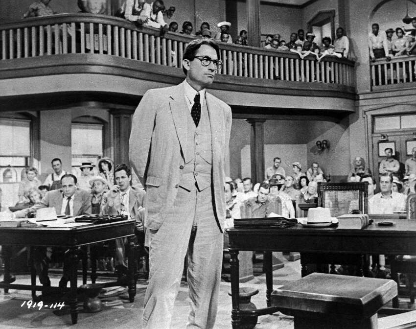 To Kill a Mockingbird (1962) The film adaption of the classic book stars Gregory Peck as Atticus Finch, a lawyer who defends a black man against rape charges.