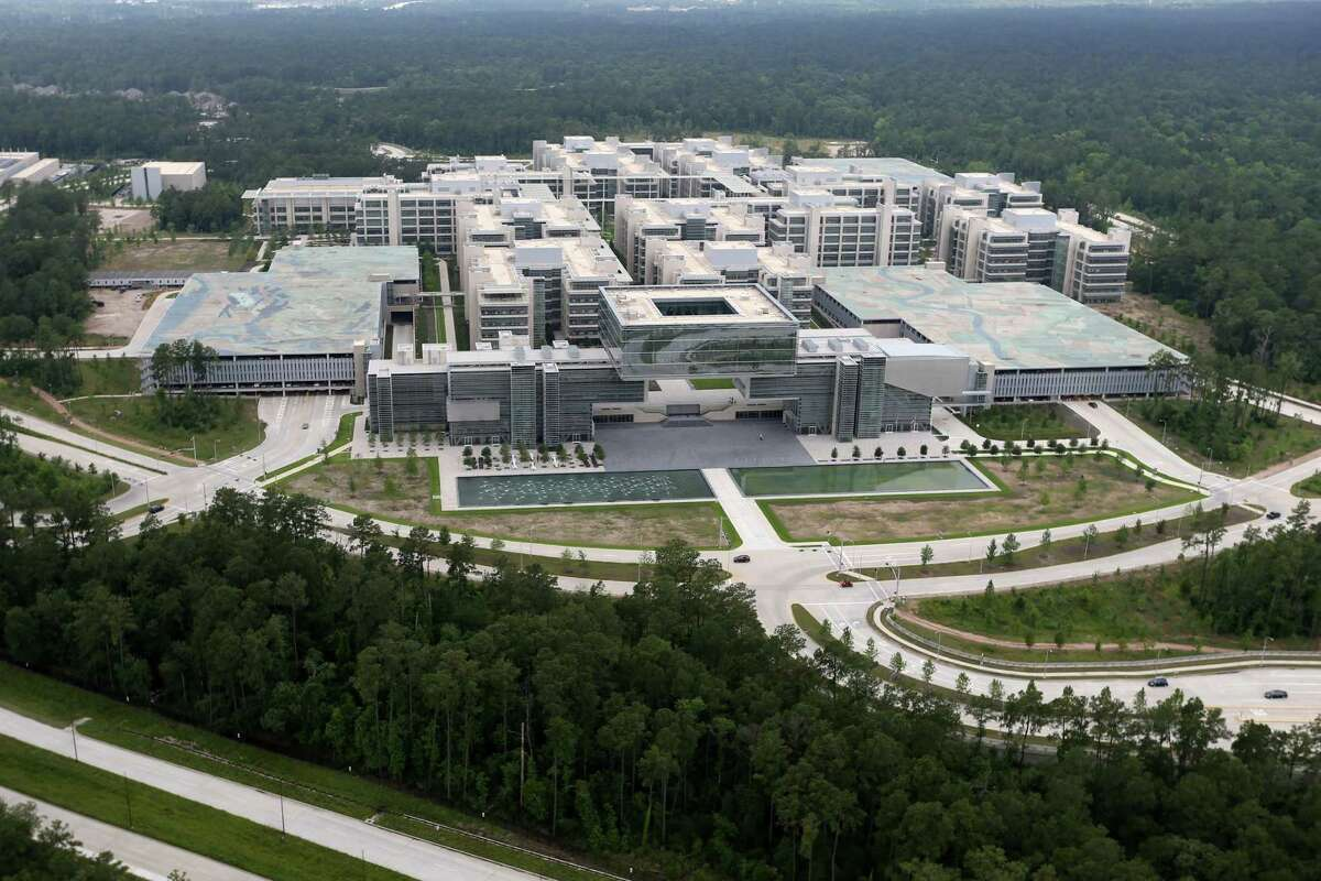 Exxon Mobil Houston Campus, Tuesday, May 17, 2016, in The Woodlands, Texas.