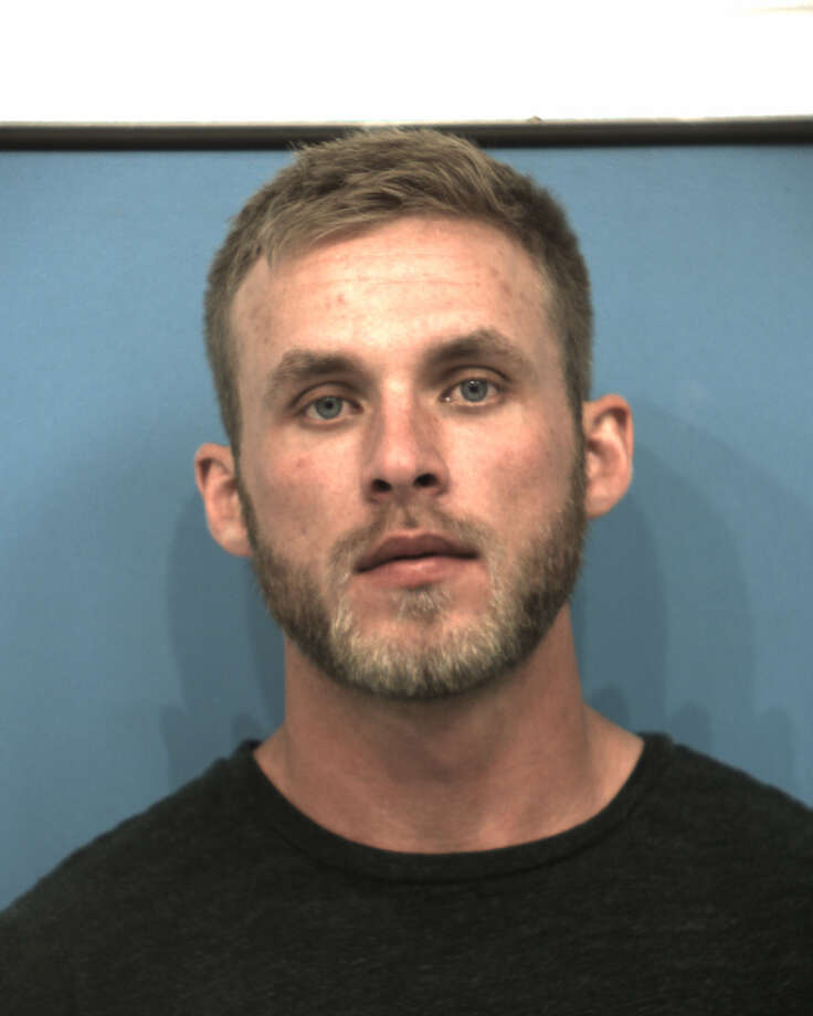 Jake Fenske, who is listed as a football and track coach and science teacher on Hutto High School's website, was charged with improper relationship between educator and student Friday. He was released the same day after posting $20,000 bond. Photo: Courtesy/Williamson County Jail Records