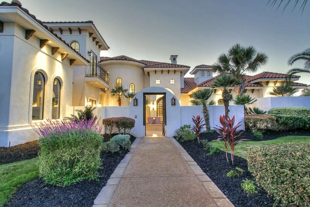 """This home at 531 Berwick Town in Shavano Park - described as """"Bali meets Miami"""" from realtor Jason Glast - is on the market at $1.599 million."""