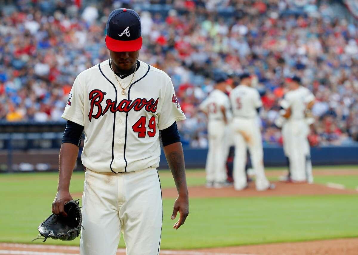 29. Atlanta Braves (16-40) Week 8 ranking: No. 30 The Atlanta Braves' stock, listed as BATRA on the Nasdaq, opened at $15.45 Monday.