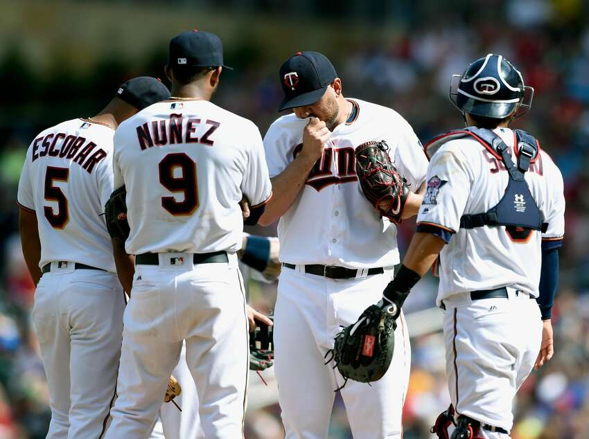 30. Minnesota Twins (16-40) Week 8 ranking: No. 29 With a 7-5 loss to the Rays on Sunday at Target Field, the Twins fell to a season-high 24 games below .500.