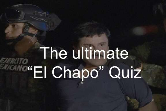 """Palma Salazar has ties to a much more famous drug cartel boss Joaquin """"El Chapo"""" Guzman, who was captured by Mexican and U.S. authorities in January in Mexico.   He's currently in a prison Ciuad Jaurez, across the border from El Paso.   Keep clicking to take a quiz to see how much you know about the narco lord."""