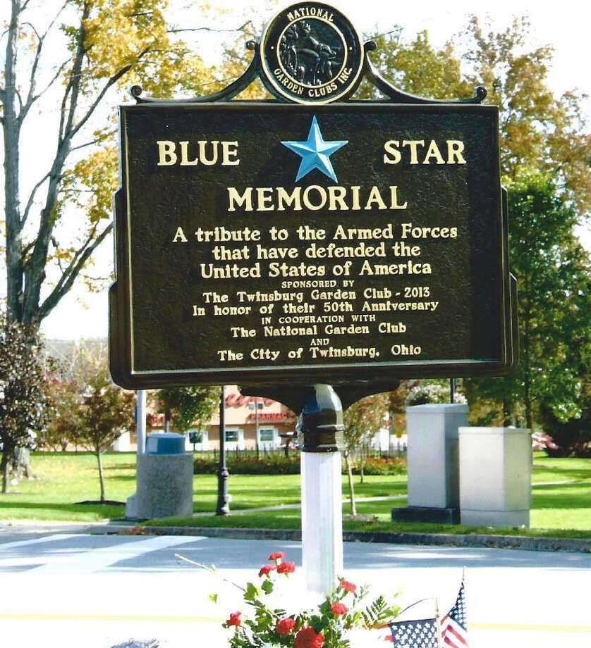 The Brookfield Garden Club will dedicate a Blue Star Memorial similar to this one in Washington, D.C., in this undated photo. Photo: Contributed Photo / Contributed Photo / The News-Times Contributed