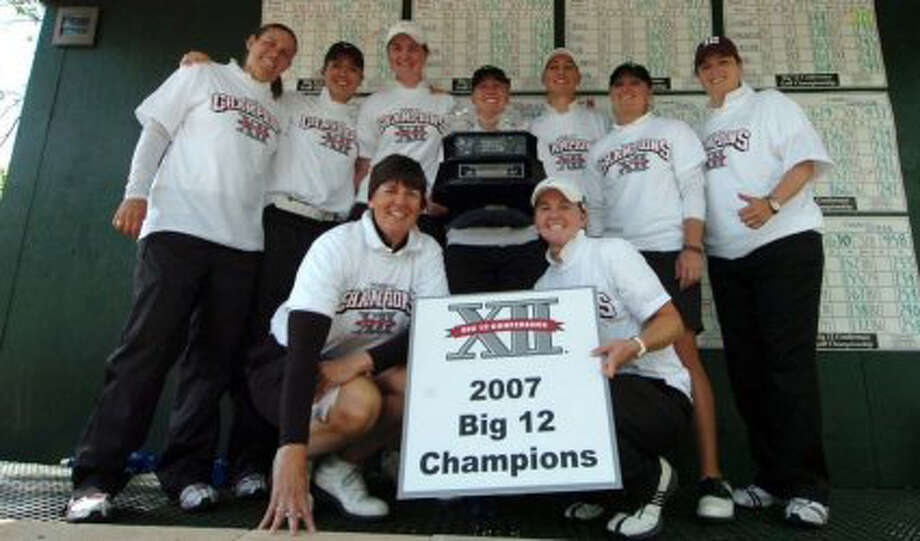 Texas A&M women's golf team wins 2007 Big 12 championship at Ridgewood Country Club in Waco. 2007 Big 12 Conference photo / DirectToArchive