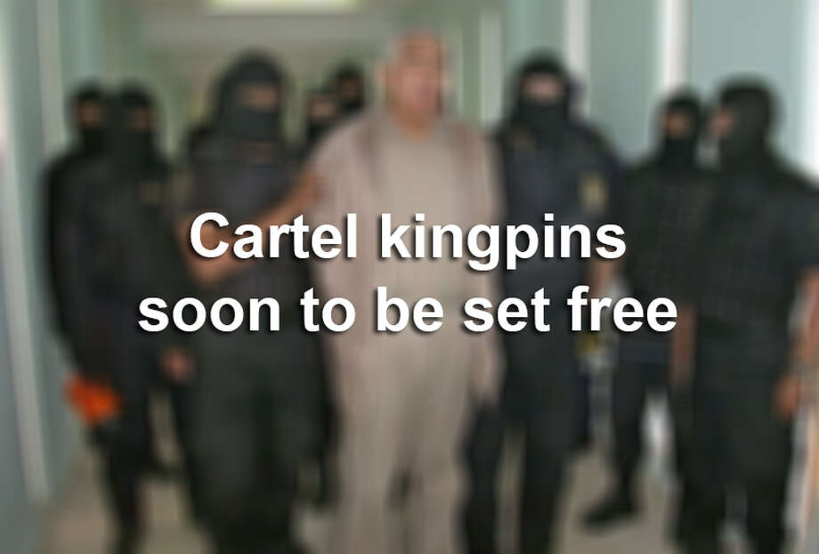 Click ahead to see what you need to know about cartel kingpins to be released from prison within five years.
