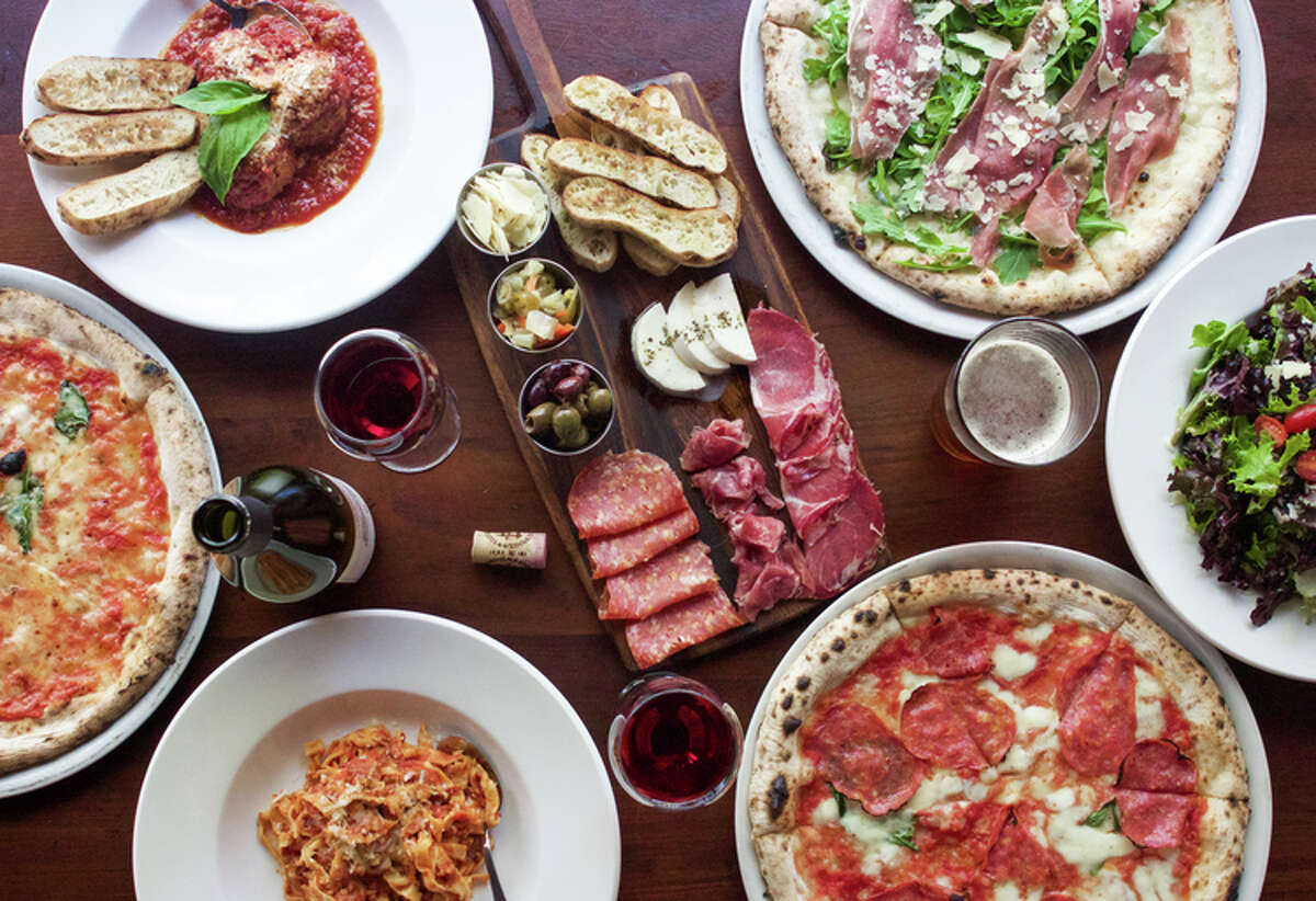 Menu items from Cane Rosso, a Dallas-based pizza restaurant opening in the Heights at 1835 N. Shepherd.