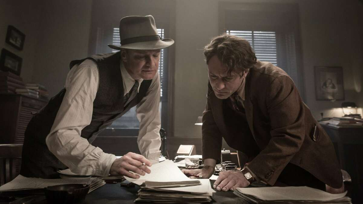 """Colin Firth and Jude Law in """"Genius."""" (Summit Entertainment)"""