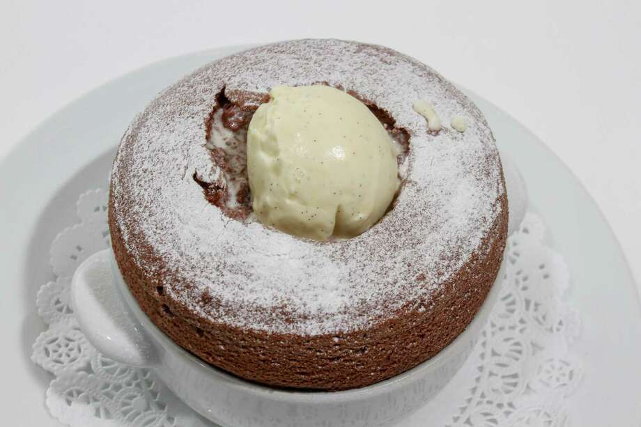 La Table's Grand Chocolate Soufflé is one of the best desserts in the city. Photo: Gary Fountain, For The Chronicle / Copyright 2016 Gary Fountain
