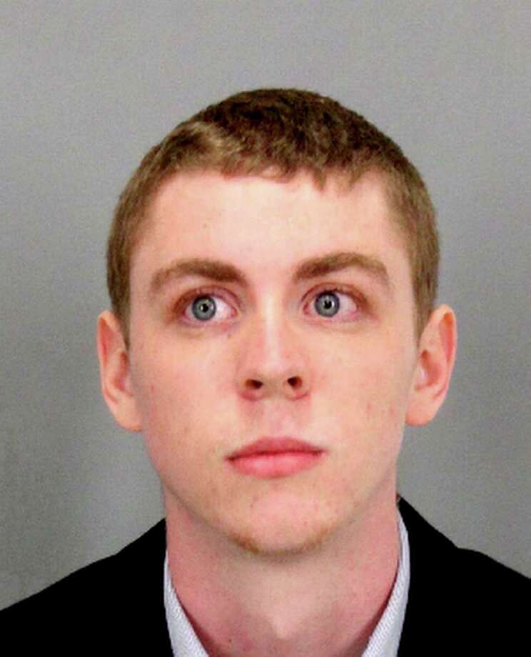 """This undated booking photo provided by Santa Clara County Sheriff shows Brock Turner a former Stanford University swimmer who received six months in jail for sexually assaulting an unconscious woman. Dan Turner, Brock's father has ignited more outrage over the case by saying his son already has paid a steep price for """"20 minutes of action"""" and said in a letter to the judge that the conviction of his son, on three felony sexual assault charges has shattered the 20-year-old, who has lost his appetite. (Santa Clara County Sheriff via AP) Photo: HOGP / Santa Clara County Sheriff"""