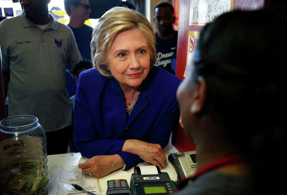 Here are all the celebrities voicing their support for Hillary Clinton. Photo: John Locher, AP / Copyright 2016 The Associated Press. All rights reserved. This material may not be published, broadcast, rewritten or redistribu