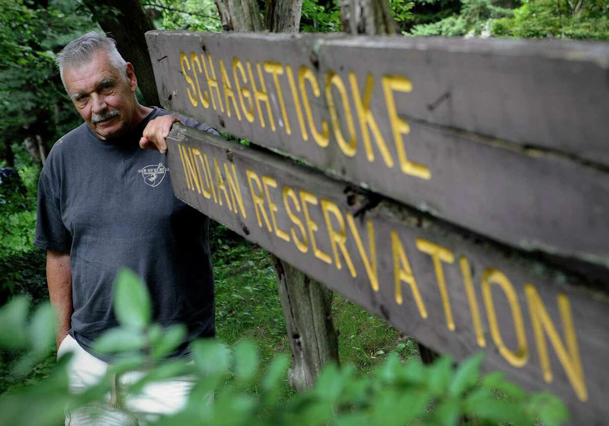 Alan Russell, chairman of the Schaghticoke Indian Tribe, which is making a bid for federal recognition.