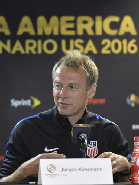 U.S. men's national team coach Jurgen Klinsmann will need his team to step up greatly against Costa Rica's stingy defense after a 2-0 loss to Colombia. Photo: OMAR TORRES, Stringer / AFP or licensors
