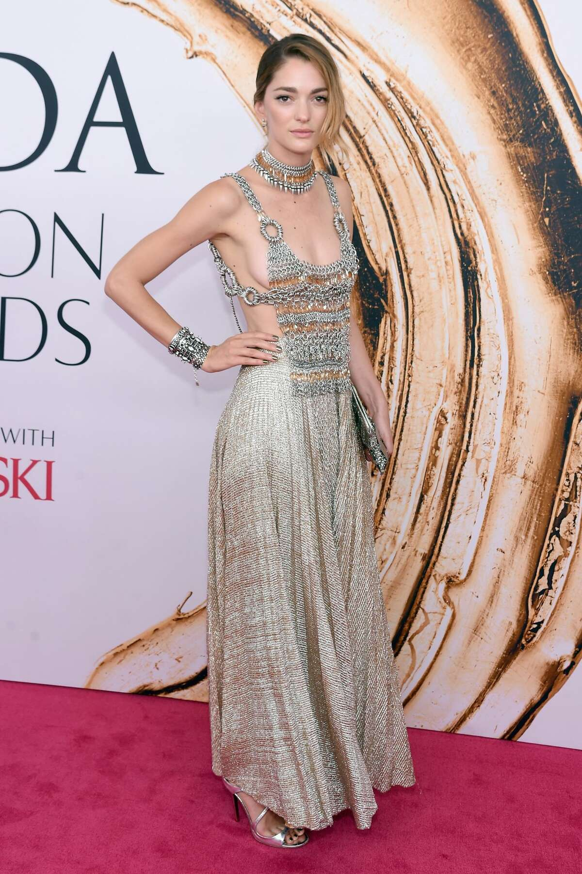 NEW YORK, NY - JUNE 06: Sofia Sanchez de Betak attends the 2016 CFDA Fashion Awards at the Hammerstein Ballroom on June 6, 2016 in New York City. (Photo by Jamie McCarthy/Getty Images)
