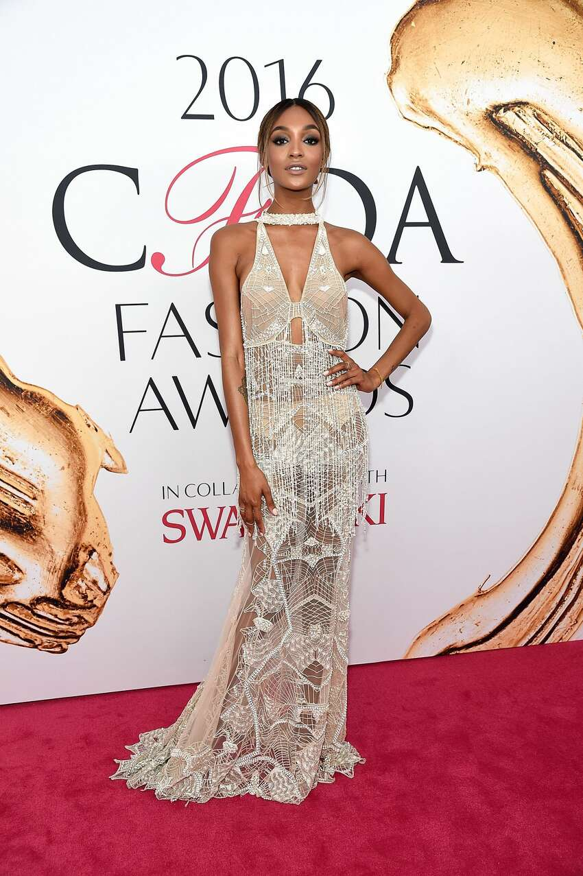 NEW YORK, NY - JUNE 06: Jourdan Dunn attends the 2016 CFDA Fashion Awards at the Hammerstein Ballroom on June 6, 2016 in New York City. (Photo by Kevin Mazur/WireImage)