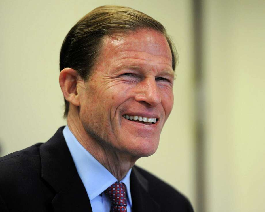 A Quinnipiac University poll released Tuesday, June 7, 2016 gives Sen. Richard Blumenthal, D-Conn. a 2-1 lead over his Republican challengers. Photo: Cathy Zuraw / Hearst Connecticut Media / Connecticut Post