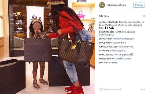 Rich Parents Of Instagram Flaunt Wealth Extravagant Lifestyles On