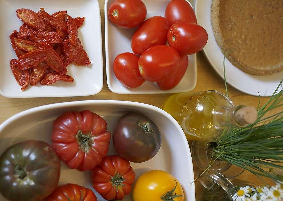 Tomatoes Photo: Liz Hafalia, The Chronicle