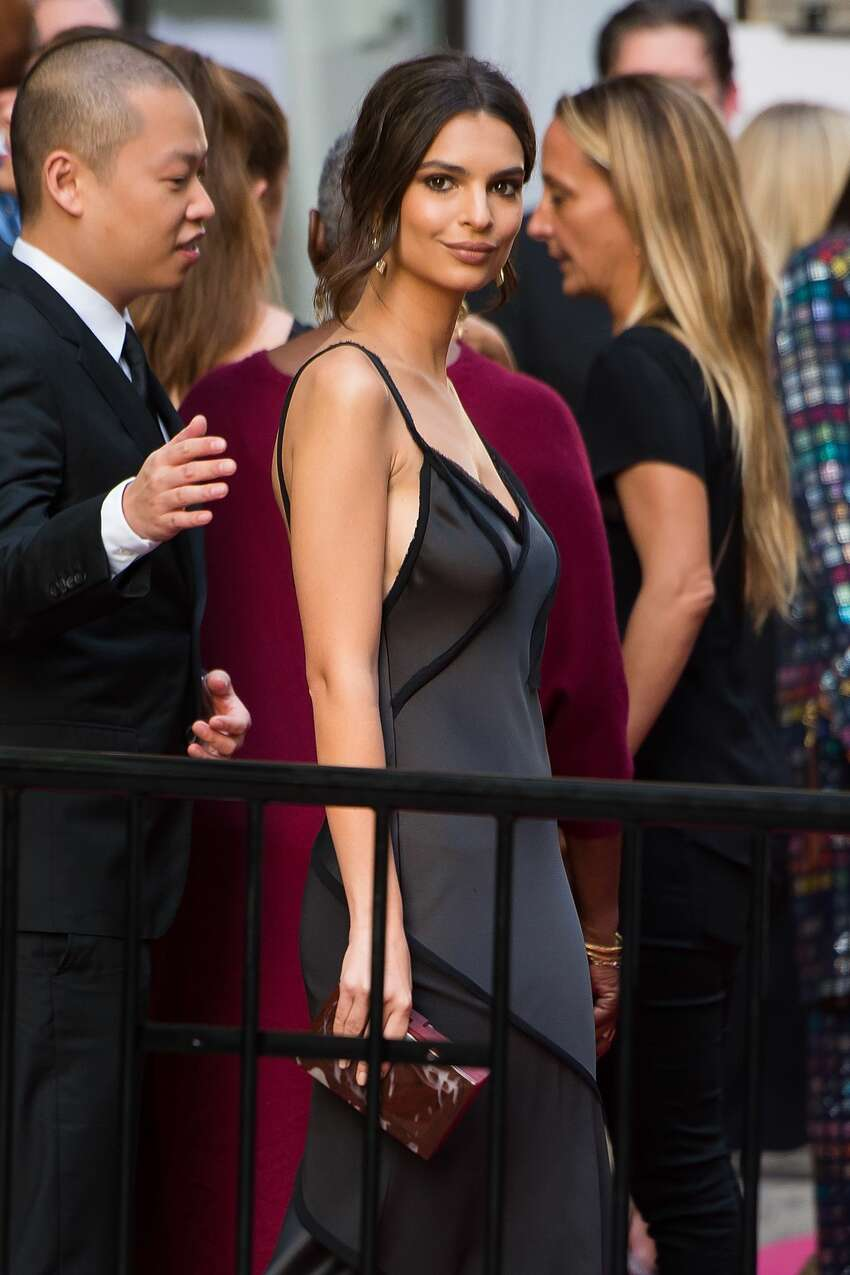 Model Emily Ratajkowski attends the 2016 CFDA Fashion Awards at the Hammerstein Ballroom on June 6, 2016 in New York City. (Photo by Michael Stewart/Getty Images)