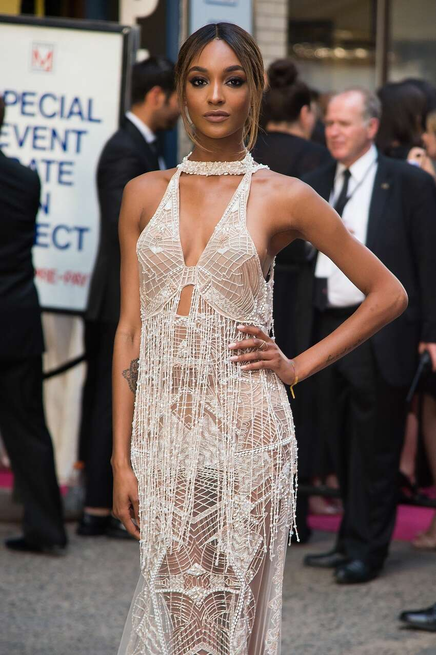 Model Jourdan Dunn attends the 2016 CFDA Fashion Awards at the Hammerstein Ballroom on June 6, 2016 in New York City. (Photo by Michael Stewart/Getty Images)