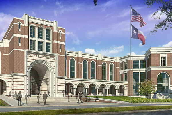 A $487 million bond referendum will bring five new schools to CISD, four of which will be in the Oak Ridge area, including this new high school. CISD has opened the door to suggestions for the new Oak Ridge high school off Riley Fuzzel Road and the elementary school, currently named Flex 17, which are slated for the Falls at Imperial Oaks residential community.