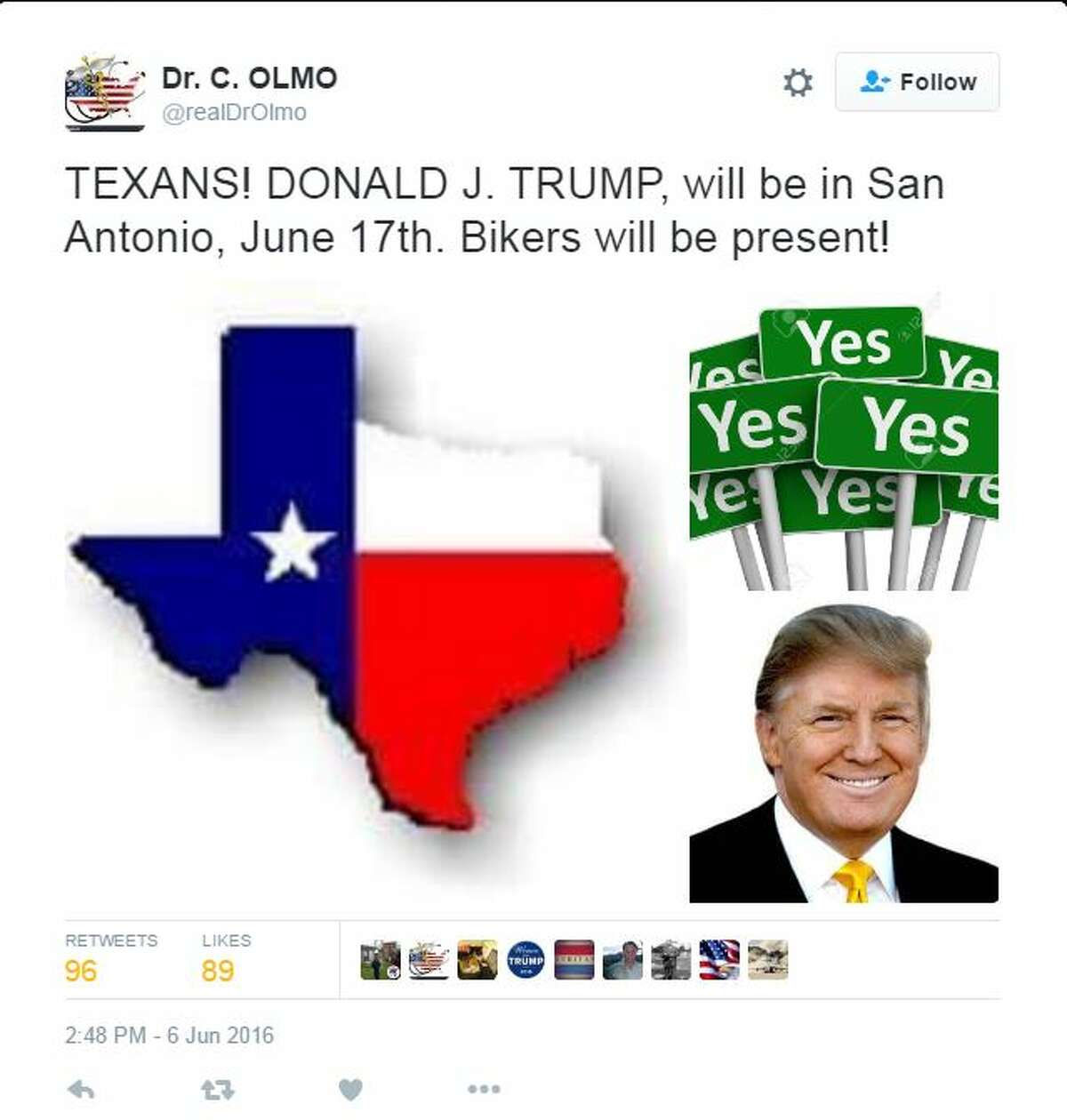 When news broke that Donald Trump is planning a fundraising visit to San Antonio on June 17, people had plenty to say about it on social media.