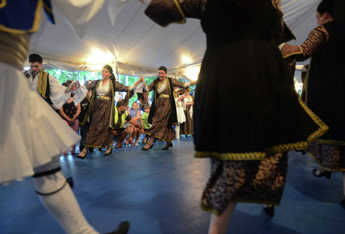 Photos from The Greek Experience Festival 2014 at Assumption Greek Orthodox Church in Danbury, Conn. Friday, June 6, 2014.