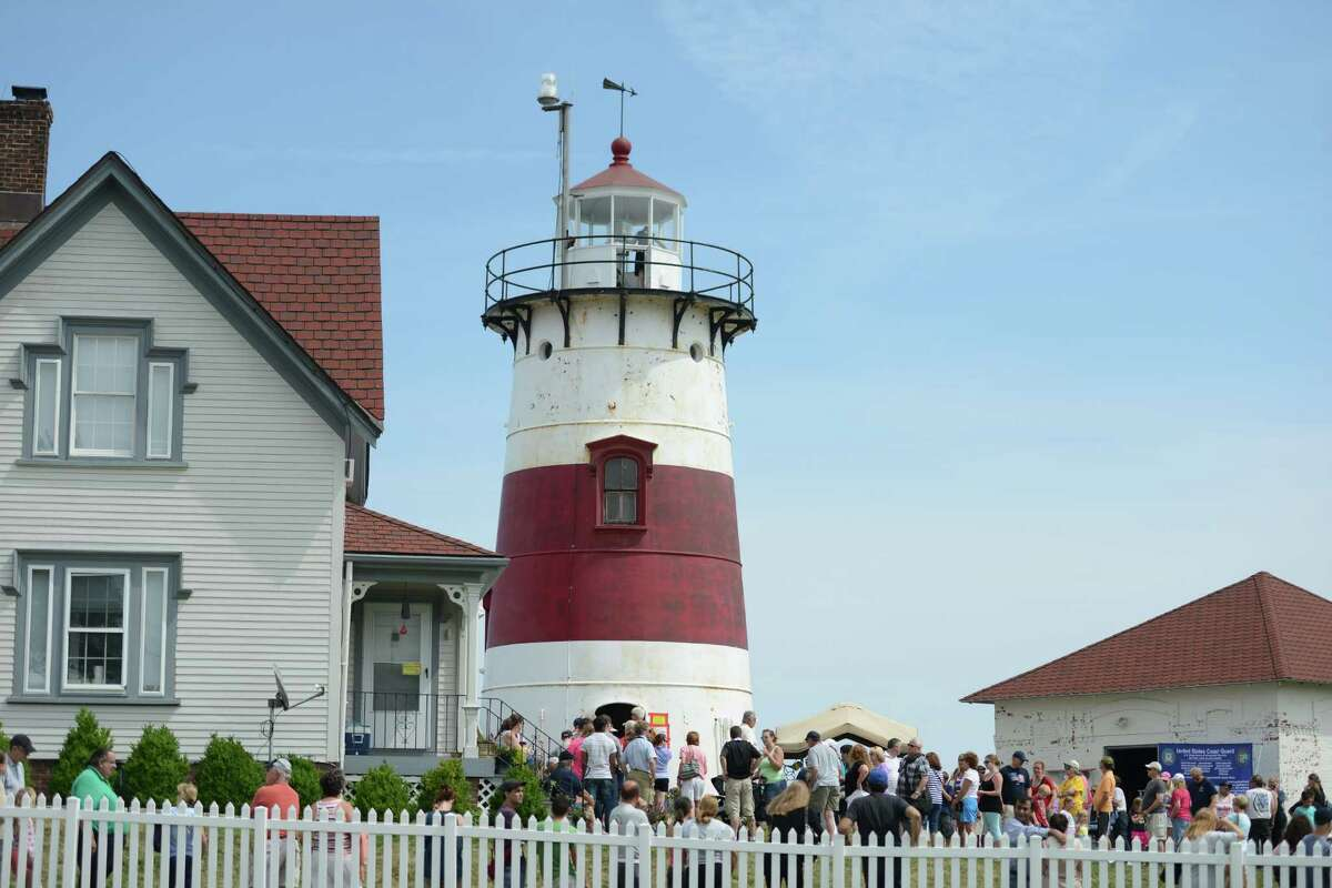 The U.S. Coast guards opened Stratford Point Lighthouse to the public Saturday, Aug. 8, 2015, for the first time in decades. There will be another tour from 9 a.m. to 3 p.m. Saturday, June 11, 2016.