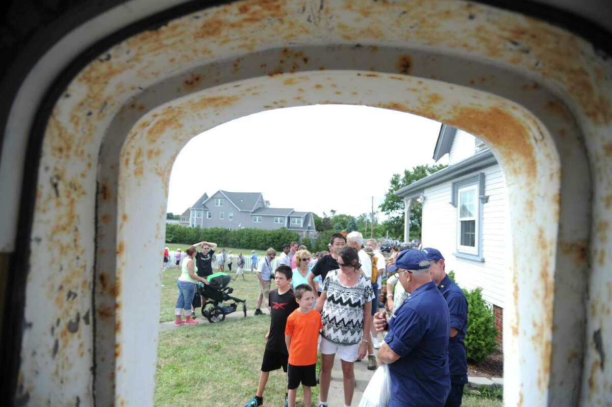 The U.S. Coast guards opened Stratford Point Lighthouse to the public Saturday, Aug. 8, 2015, for the first time in decades.There will be another tour from 9 a.m. to 3 p.m. Saturday, June 11, 2016.